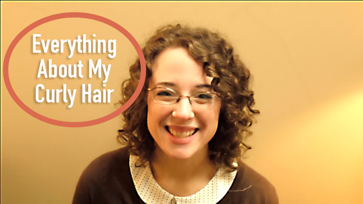 all about curly hair - styling, products, cut and care