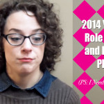 alisons notebook 2014 review and role models!
