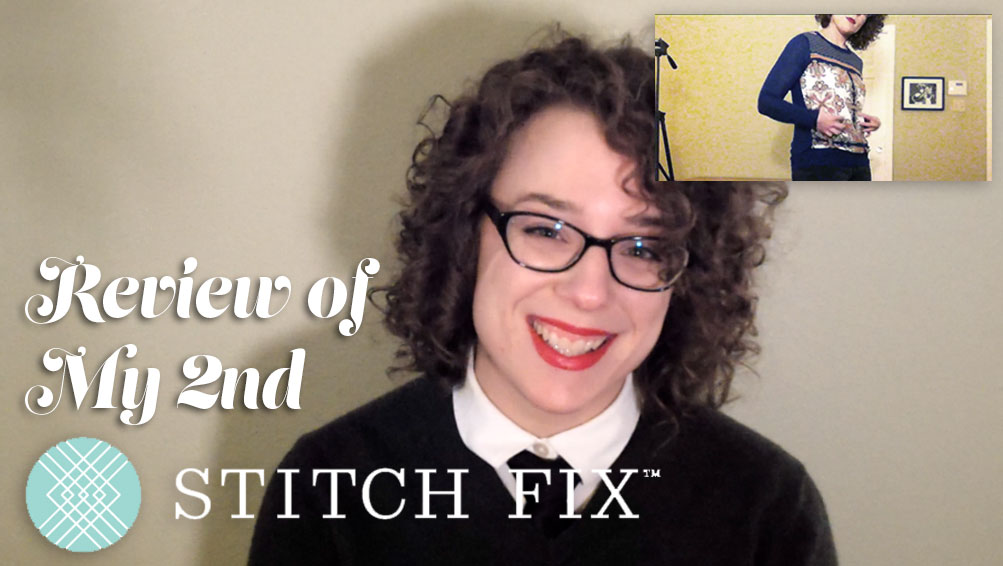 Stitch fix subscription box review - my second box