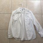 Black Striped Long-Sleeved Shirt for Minimalist Capsule Wardrobe