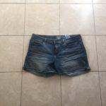 Minimalist Wardrobe Capsule Blue Jeans Shorts
