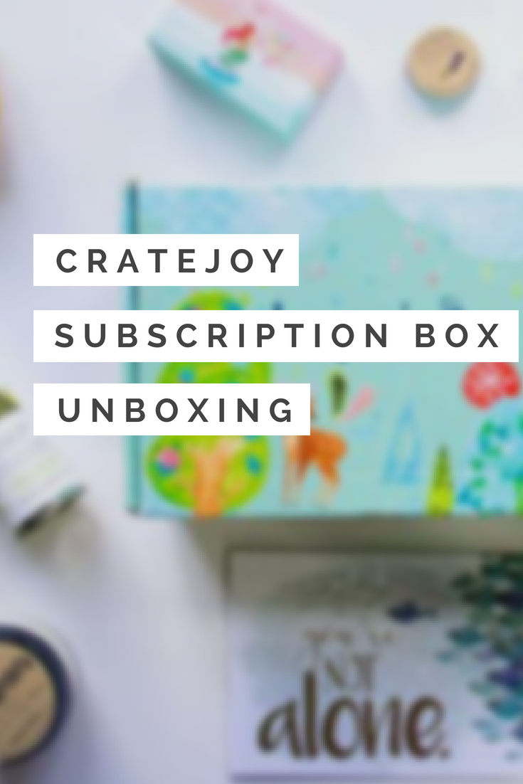 cratejoy unboxing hopebox subscription box