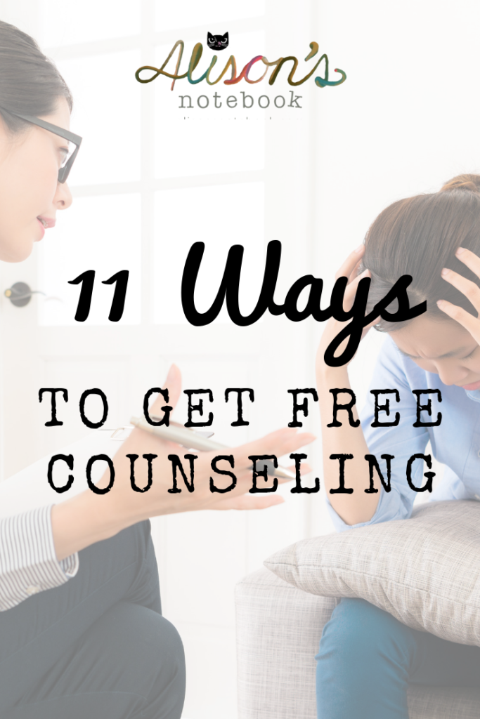 free counseling and affordable therapy options