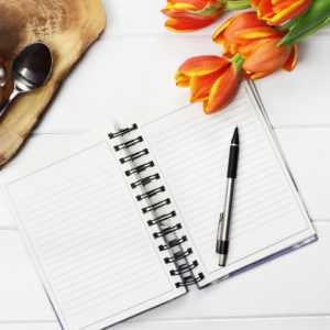 how to journal about your grief / pick me up box