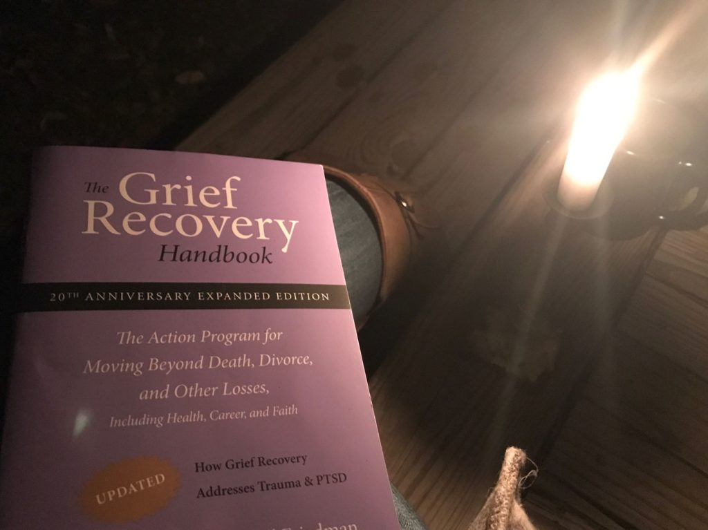 grief recovery hndbook - felicia bates - pick me up box