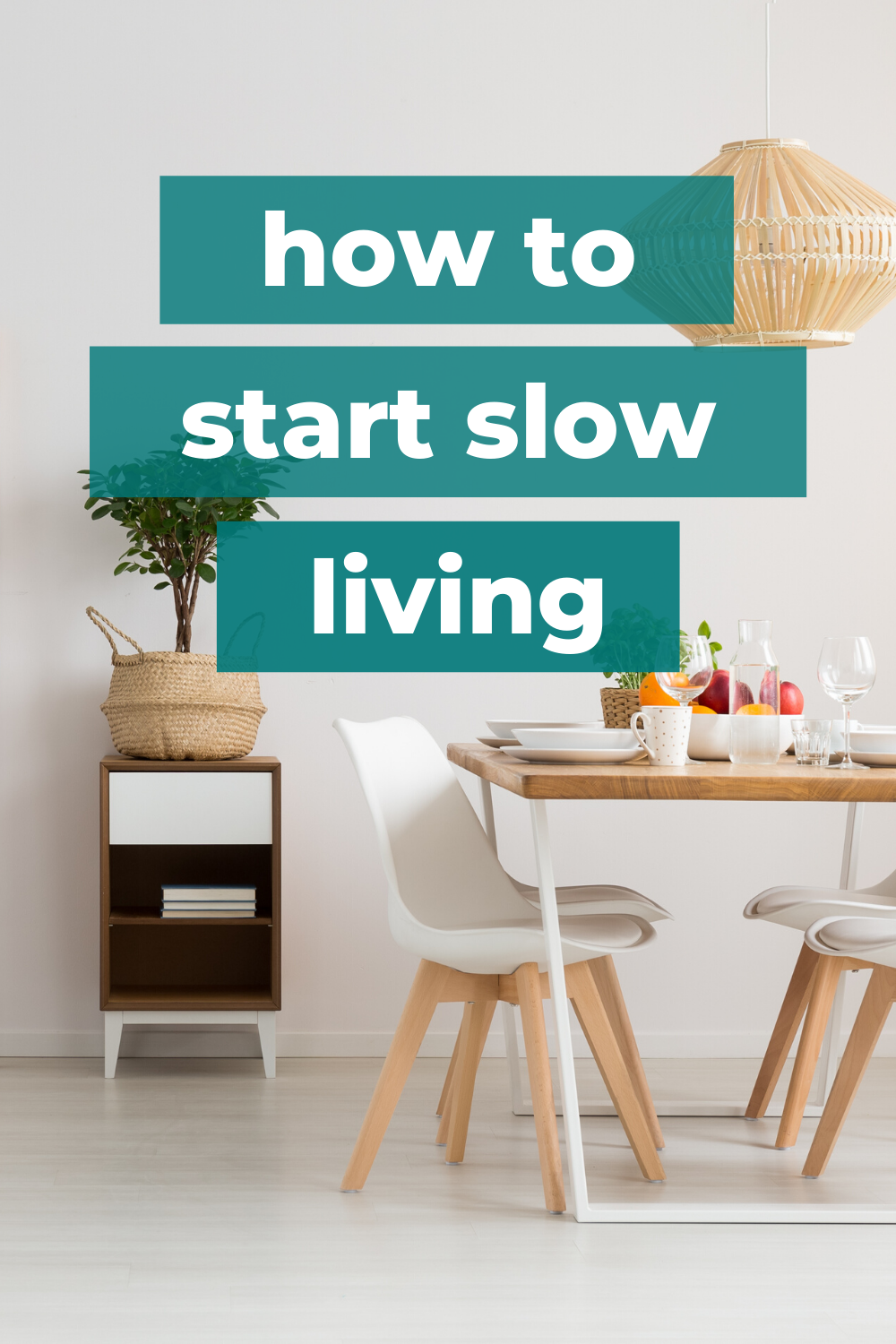 slow living lifestyle