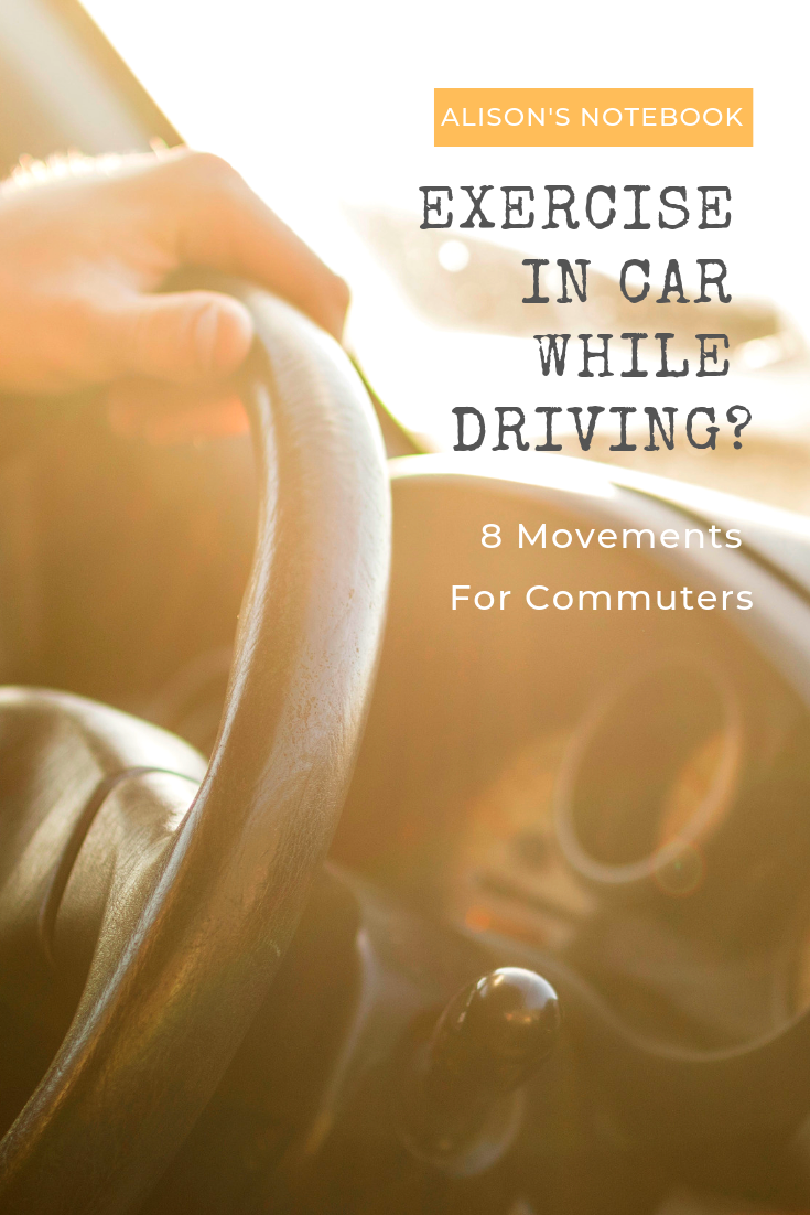 exercises you can do while commuting