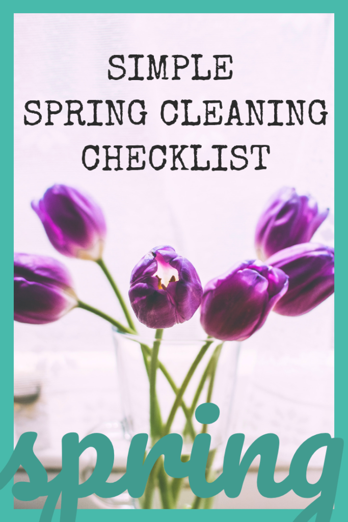 simple spring cleaning checklist (1)