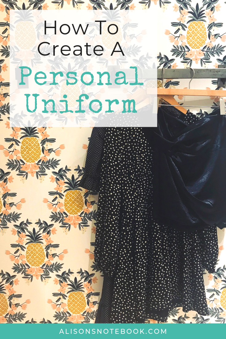 how to create a personal uniform