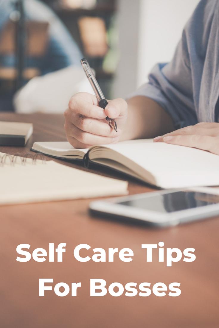 self care for bosses