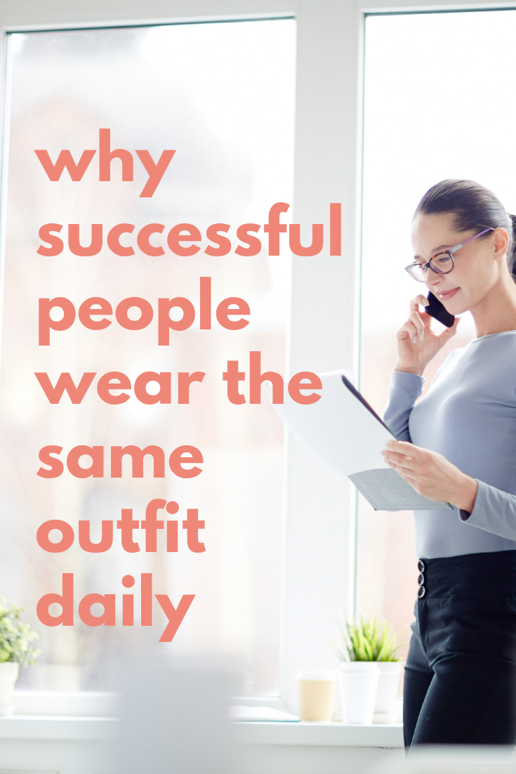 5 benefits of wearing the same outfit everyday