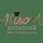 alisons notebook blog logo