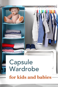 The how and why of a capsule wardrobe for kids.